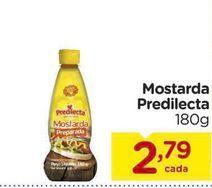 Oferta de Mostarda Predilecta 180g por R$2,79