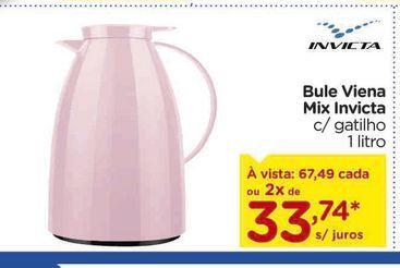 Oferta de Bule Viena Mix Invicta por R$67,49