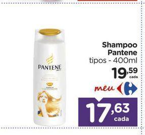 Oferta de Shampoo Pantene por R$17,63