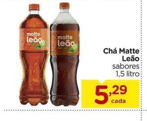 Oferta de Chá Matte Leão por R$5,29