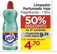 Oferta de Limpador Perfumado Veja por R$9,39