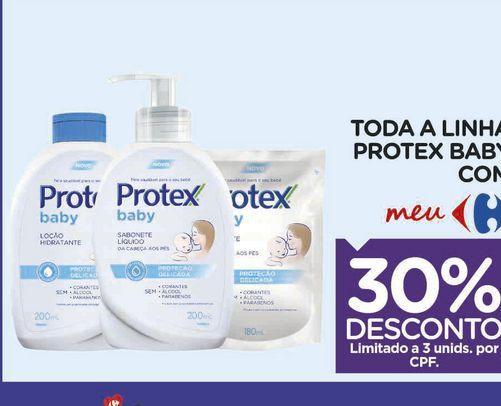 Oferta de Sabonete líquido Protex baby por