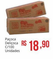 Oferta de Paçoca deliçoca 100 unidades por R$18,9