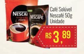 Oferta de Café solúvel Nescafé 50 gr por R$3,89