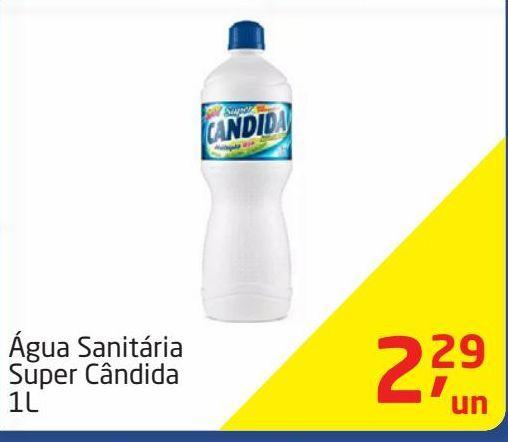 Oferta de Água sanitária Super Candida por R$2,29