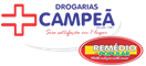 Logo Drogarias Campeã