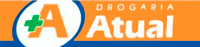 Logo Drogaria Atual
